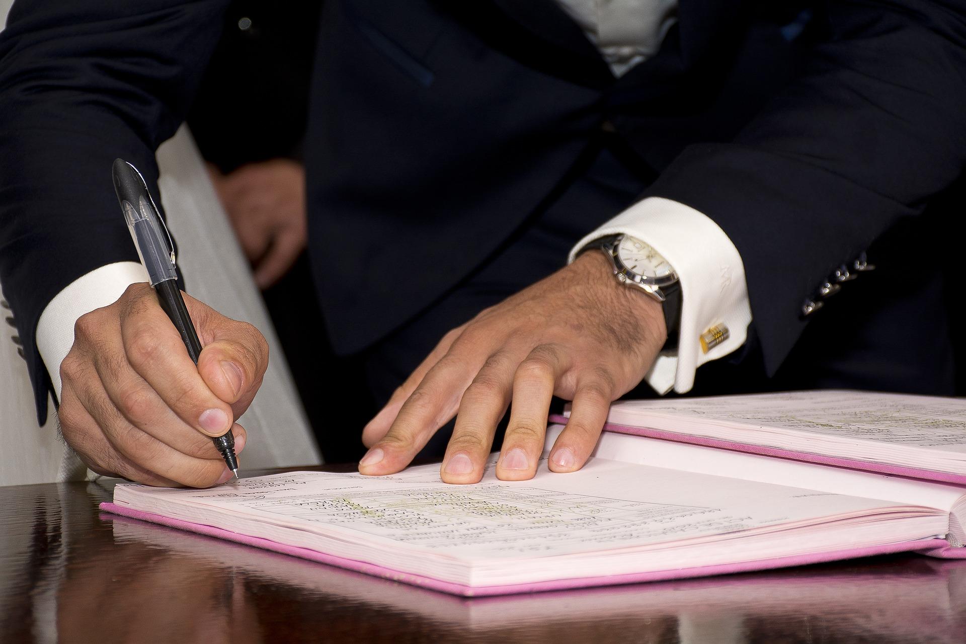 podpisywanie